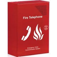 Red fire telephone EVC outstation EVC301RLK